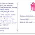 Tante Mien doneert verjaardagscadeau aan Vlinderkind