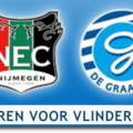 Jupiler League Derby NEC-GRA in teken van Vlinderkind!
